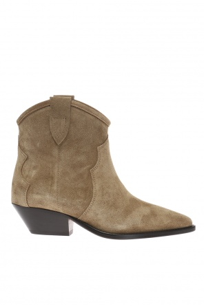 Heeled high ankle boots od Isabel Marant